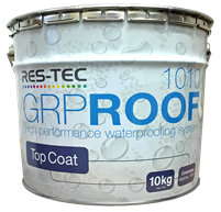 GRP ROOF 1010 10KG Top Coat