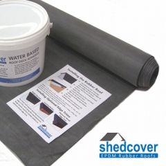 Shed Rubber Roof Kits - Shedcover