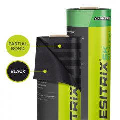 Resitrix SK Black Partial Bond from Rubber4roofs