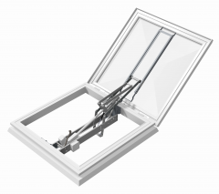 Mardome Smoke Vent Roof Light Open