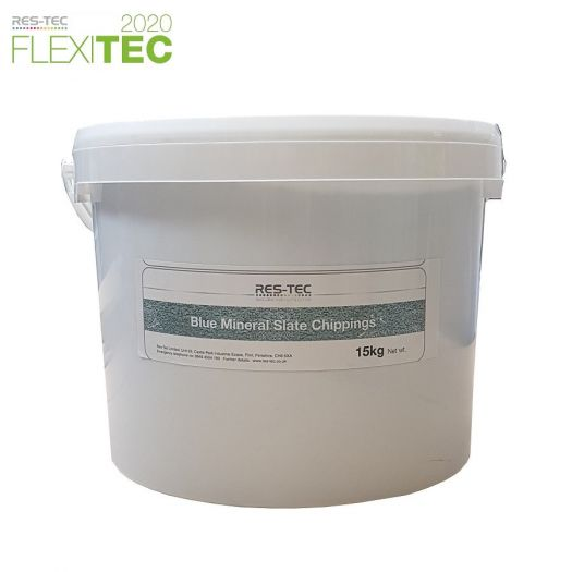 Res-Tec Flexitec 2020 Slate Grit (15kg) - Roof Depot UK