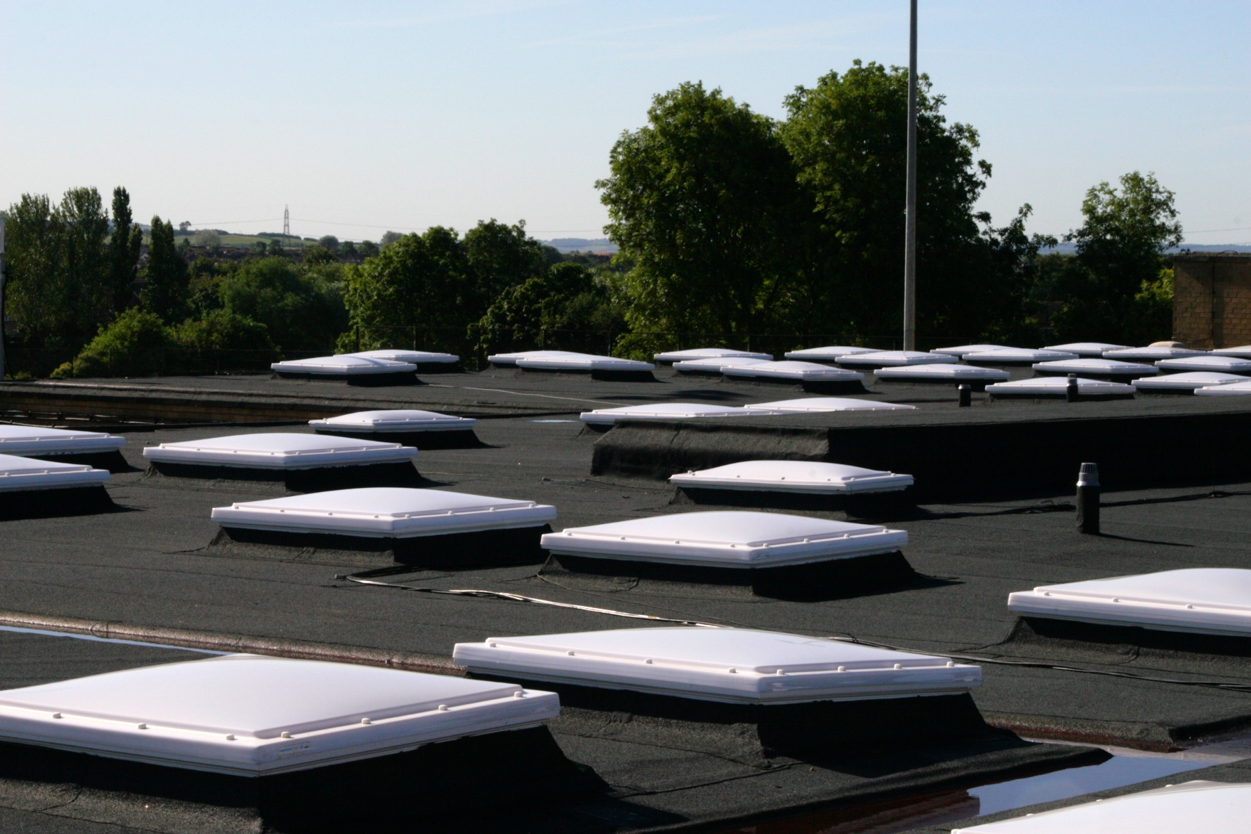mardome trade industrial roof
