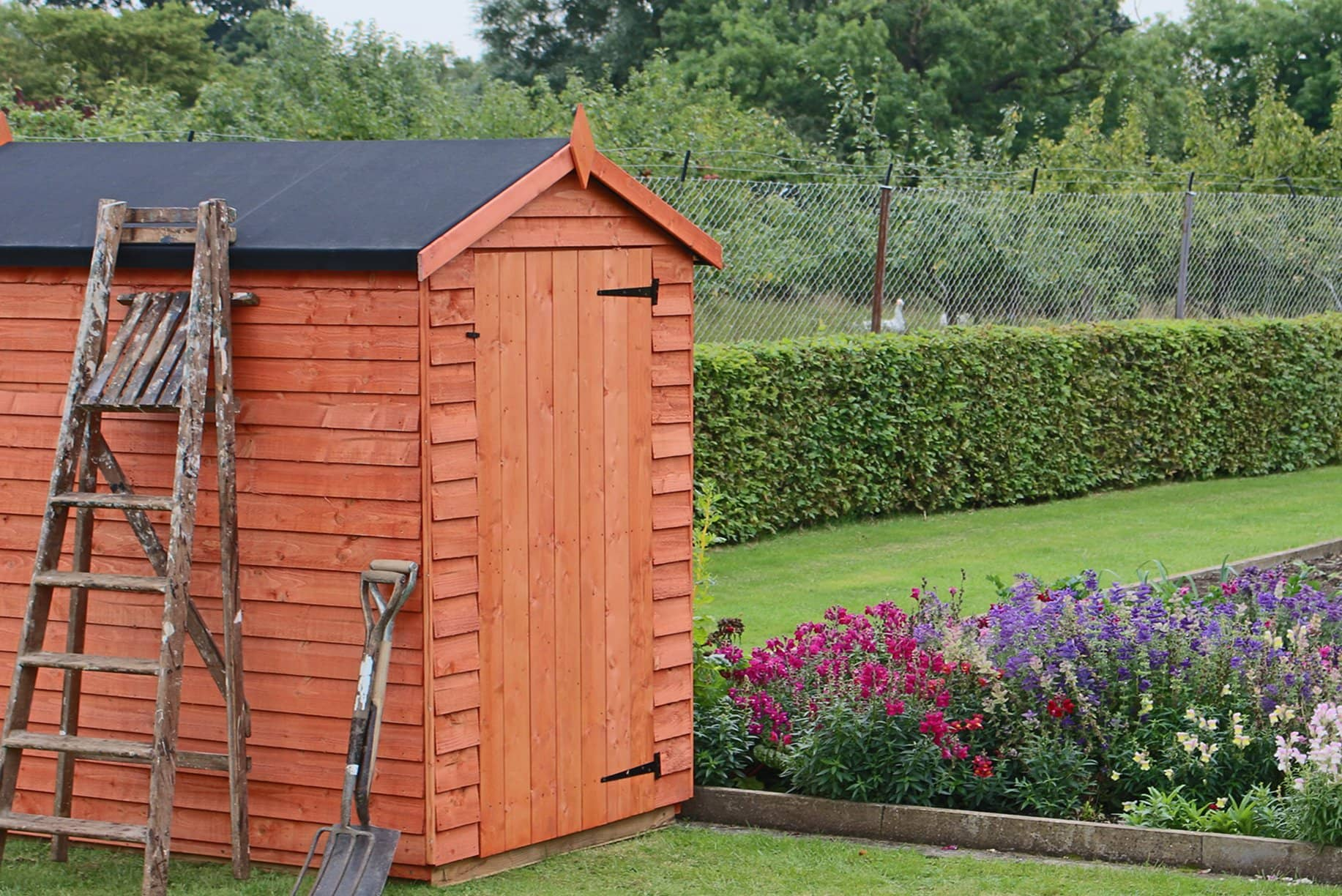Epdm shed rubber roof kits easy to install roof for Shed roofs