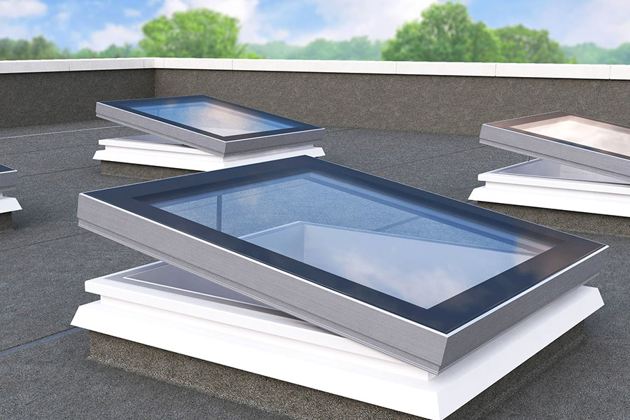 Flat Glass Skylights