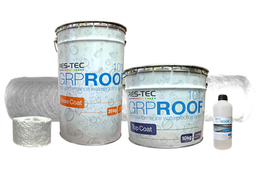 GRP Roof 1010 Roofing System